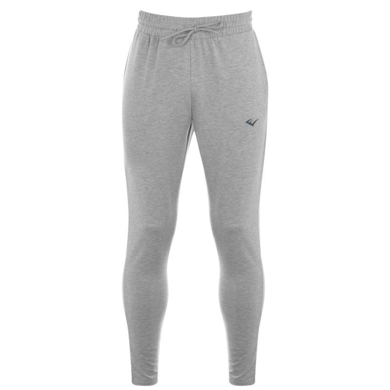 Tepláky Everlast Slim Jogging Pants Mens Grey Marl