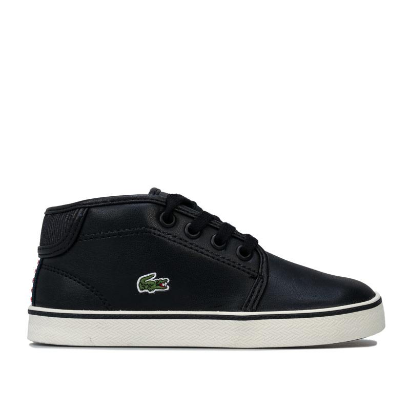 Boty Lacoste Infant Boys 119 Ampthill Trainers Black