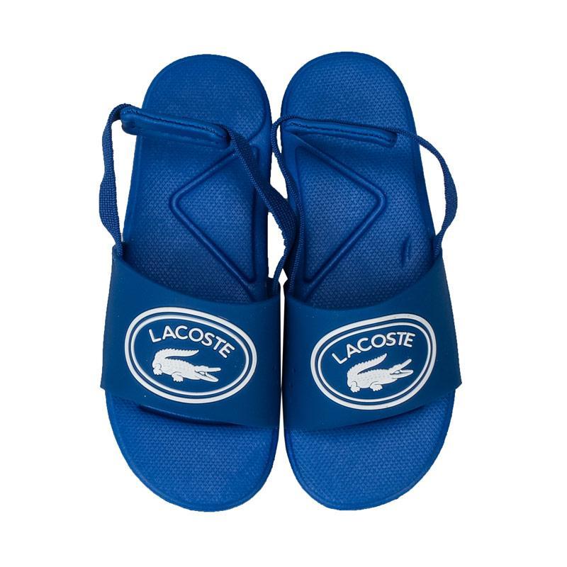 Boty Lacoste Infant Boys L.30 119 Slide Sandals Blue-White