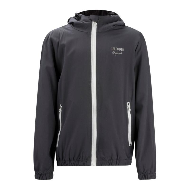 Bunda Lee Cooper Casual Jacket Junior Grey