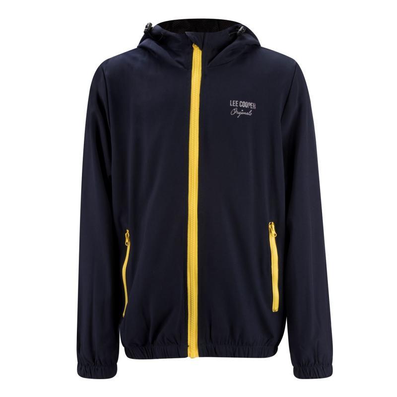 Bunda Lee Cooper Casual Jacket Junior Navy