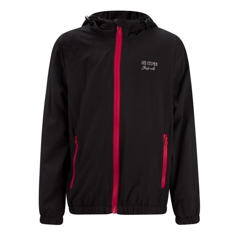 Bunda Lee Cooper Casual Jacket Junior Black