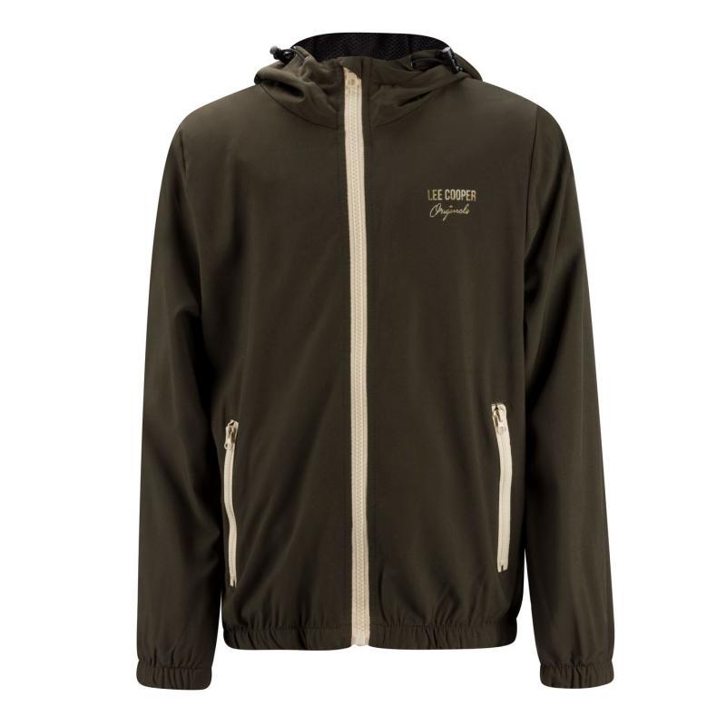 Bunda Lee Cooper Casual Jacket Junior Khaki
