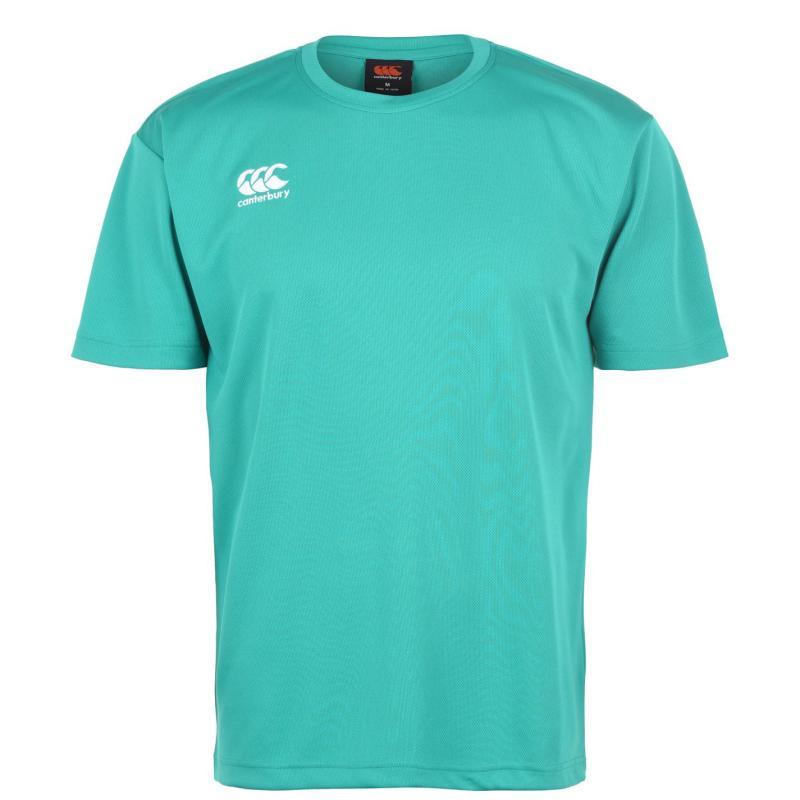 Canterbury Short Sleeve Training T Shirt Mens Jade