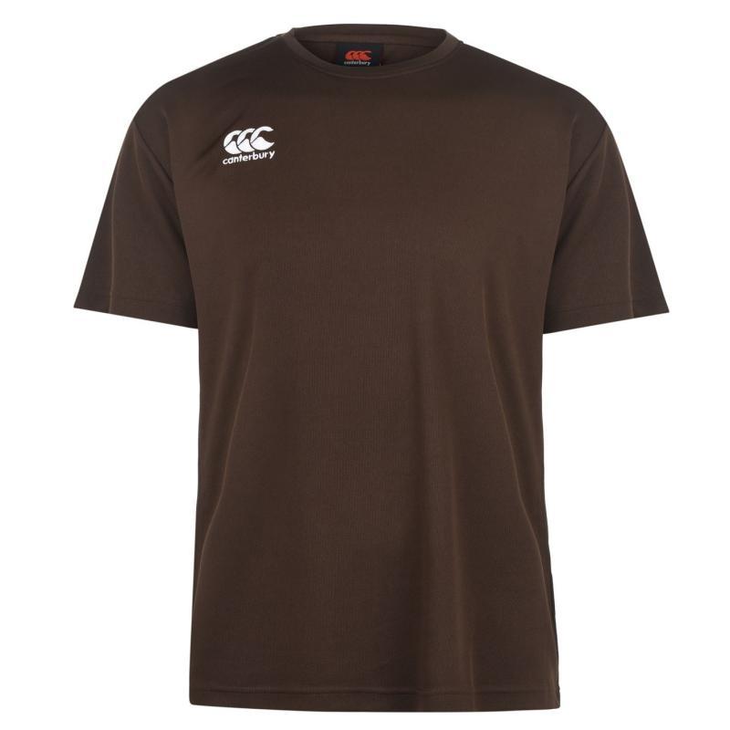 Canterbury Short Sleeve Training T Shirt Mens Umber