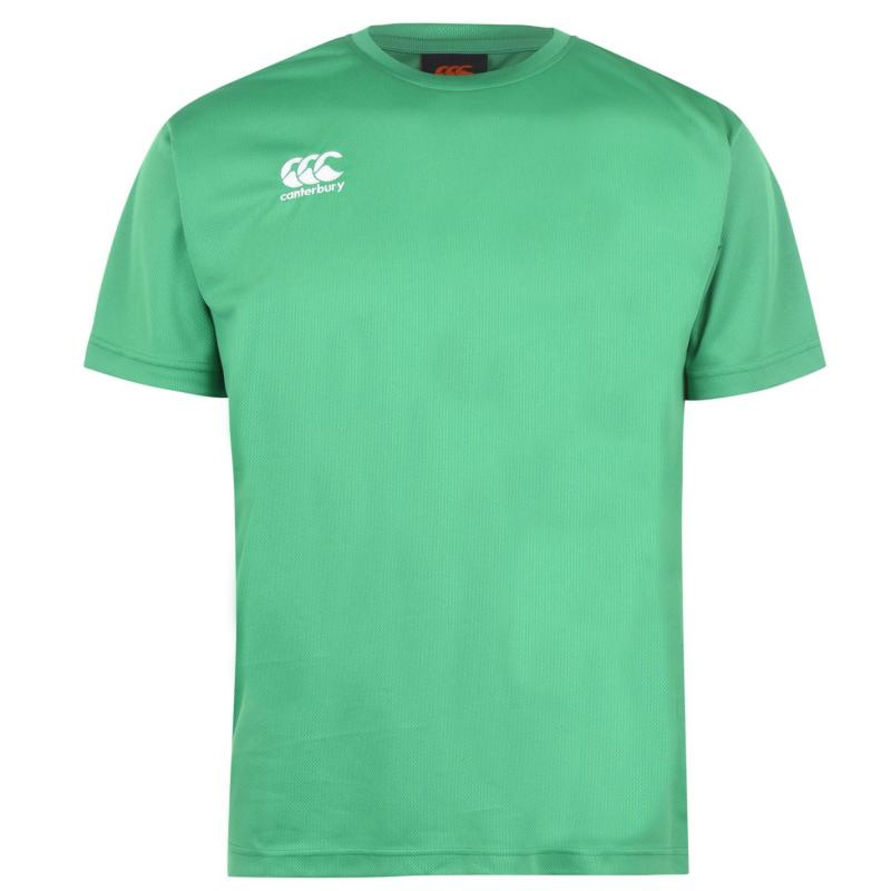 Canterbury Short Sleeve Training T Shirt Mens Emerald