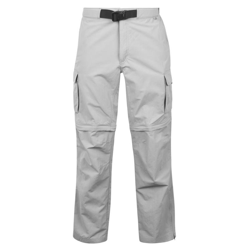 Eastern Mountain Sports Camp Cargo Zip Off Trousers Mens Neutral Grey