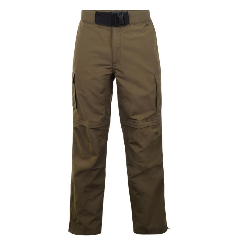 Eastern Mountain Sports Camp Cargo Zip Off Trousers Mens Tarmac