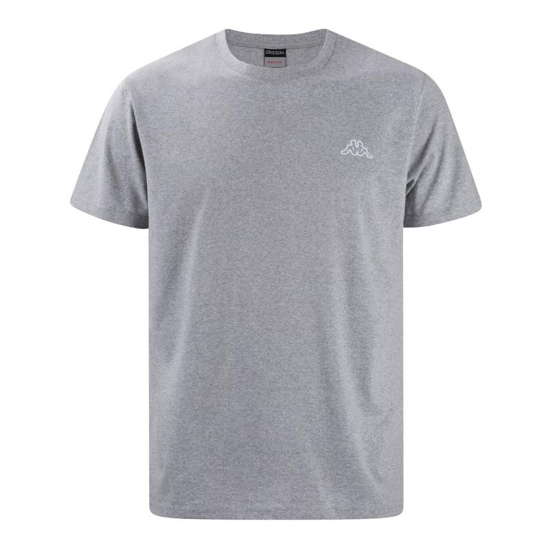 Tričko Kappa T Shirt Mens Grey