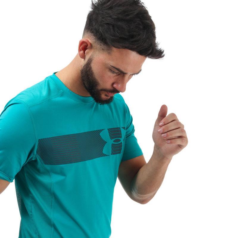 Tričko Under Armour Mens Raid Graphic T-Shirt Green