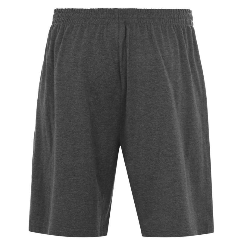 Slazenger Jersey Shorts Mens Charcoal