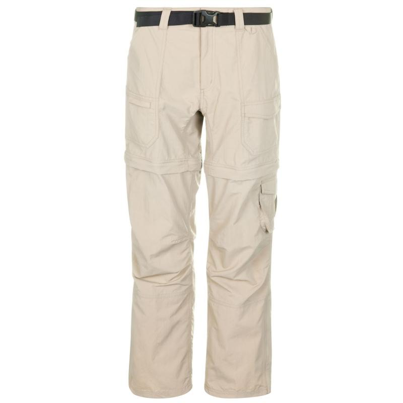 Eastern Mountain Sports Camp Cargo Zip Off Trousers Womens Aluminum