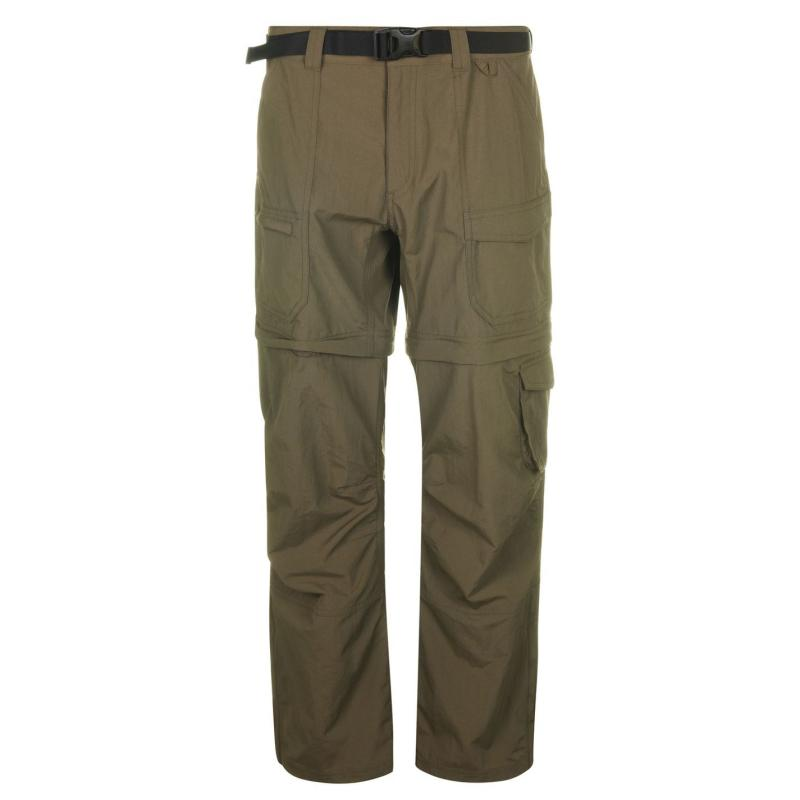 Eastern Mountain Sports Camp Cargo Zip Off Trousers Womens Grape Leaf