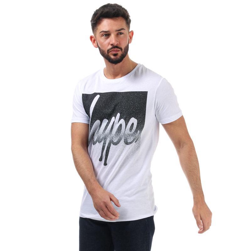 Tričko Hype Mens Speckle Box T-Shirt White