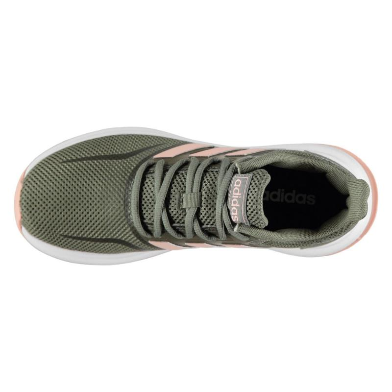 Adidas Runfalcon Trainers Ladies Khaki/Pink/Wht