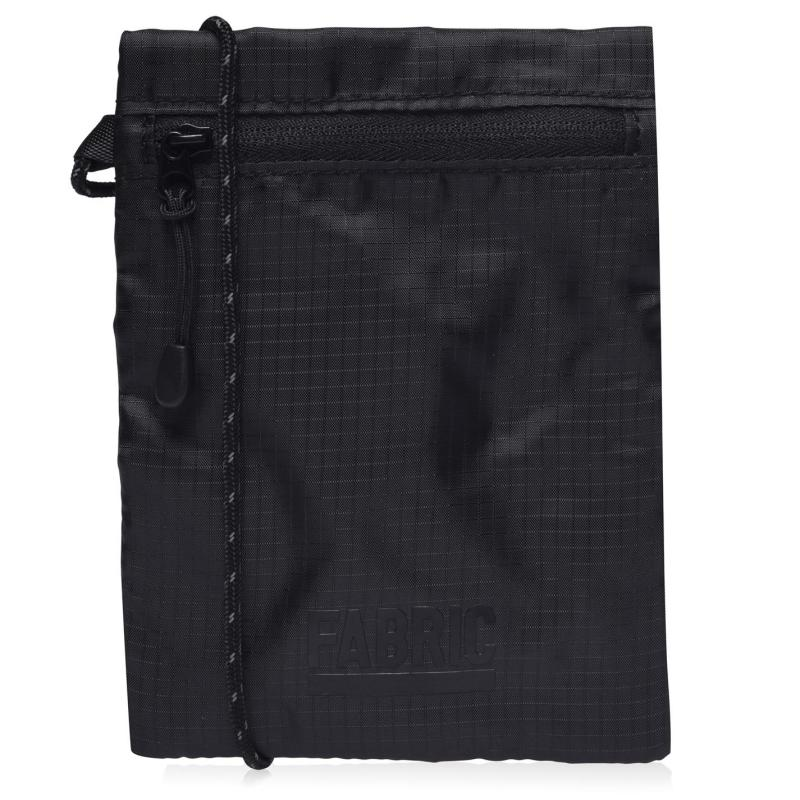 Fabric Pouch Bag Black