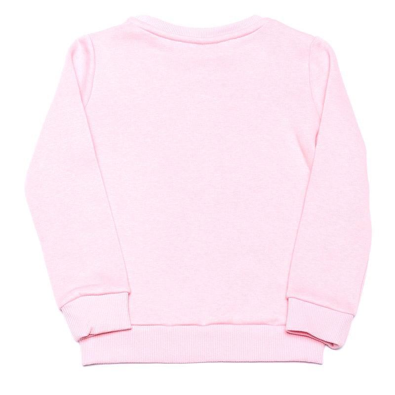 Hype Infant Girls Kid's Bubble Gum Crew Sweat Pink