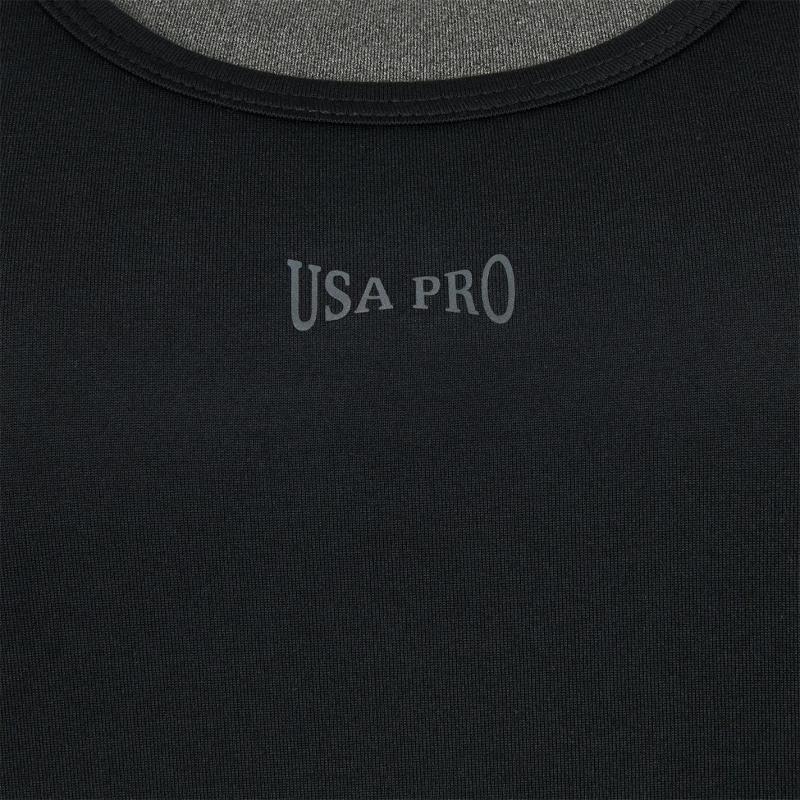 USA Pro 2in1 Vest Black/Char Marl