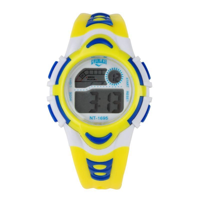Everlast Digital Watch Juniors Yellow/White