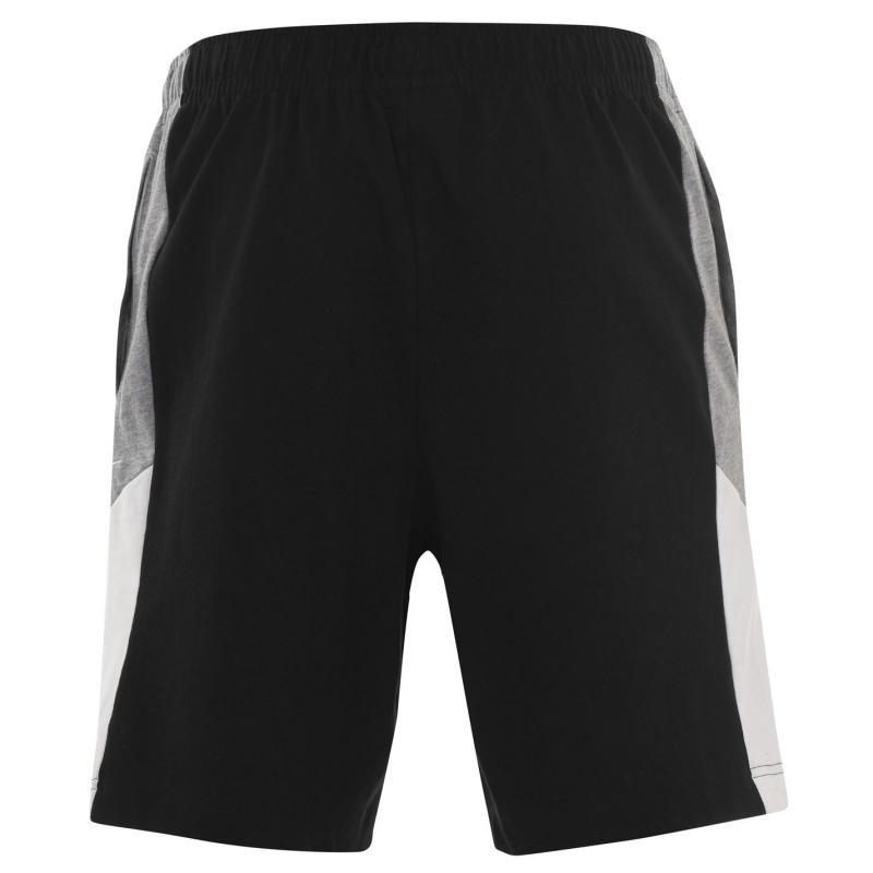 Nike Sportswear Men's Jersey Shorts BLACK/DK GREY HEATHER/SAIL/WHI