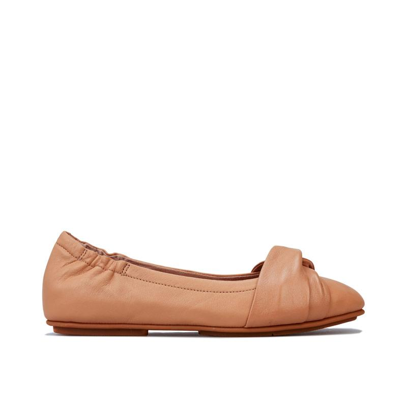 Fit Flop Womens Twiss Ballerina Shoes Nude