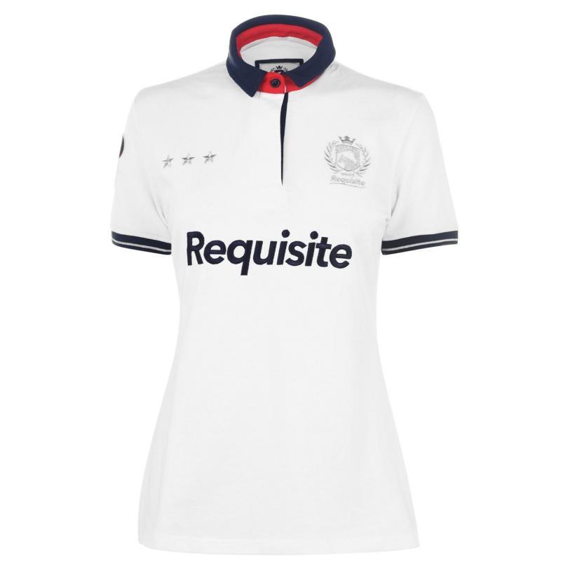 Polokošile Requisite Logo Polo Shirt Ladies White