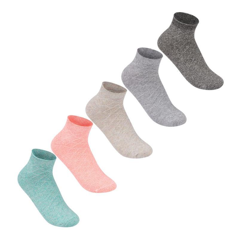 Ponožky Giorgio 5 Pack Marl Socks Ladies Multi
