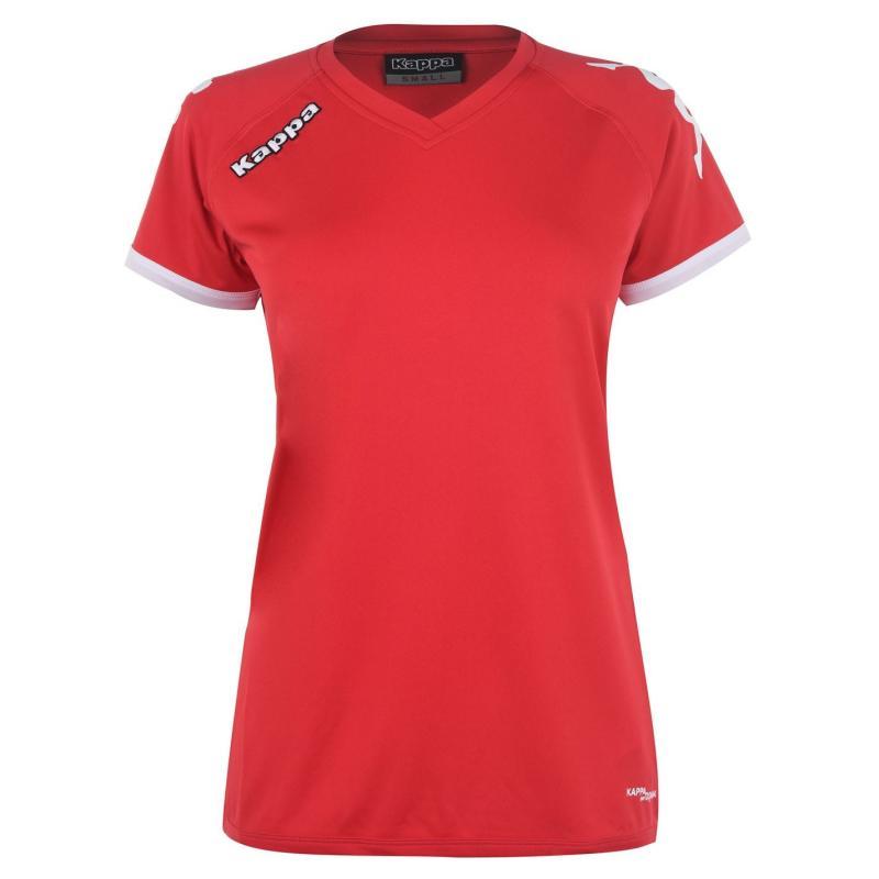 Tričko Kappa Cascia T-Shirt Mens Red