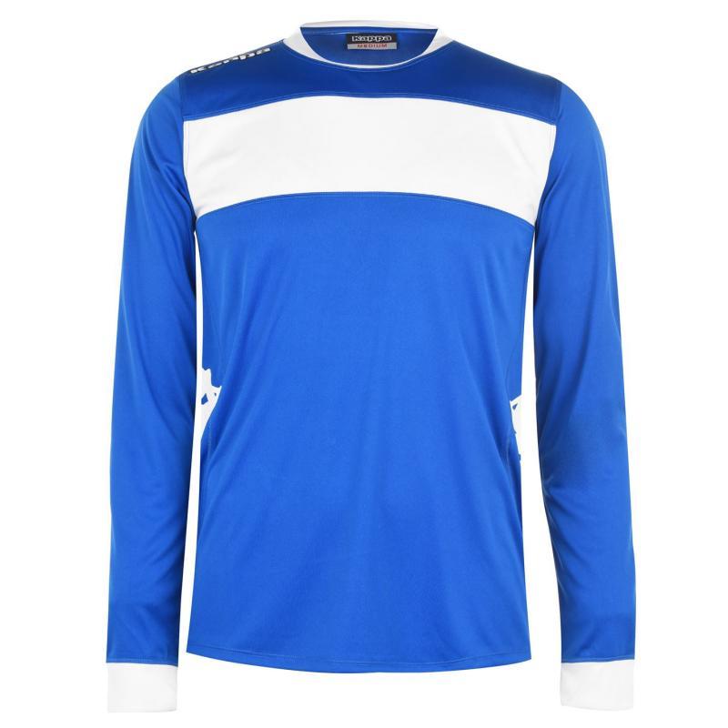 Tričko Kappa Remilio Long Sleeve T Shirt Nautic Blue / W