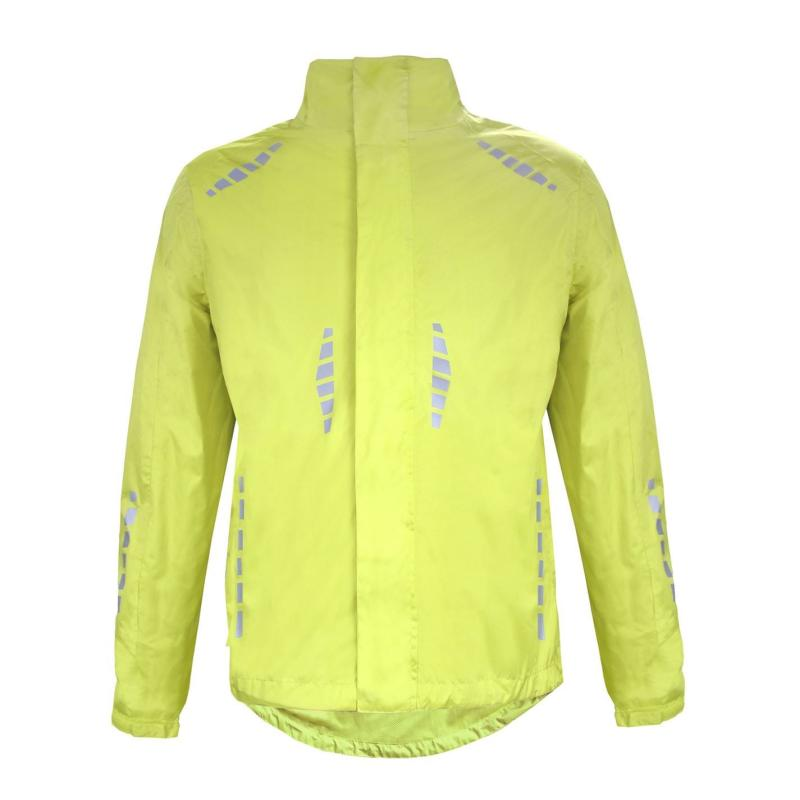 Donnay Reflective Jacket Mens Fluo Yellow