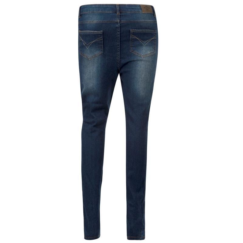 Lee Cooper Casual Jeans Ladies Dark Wash