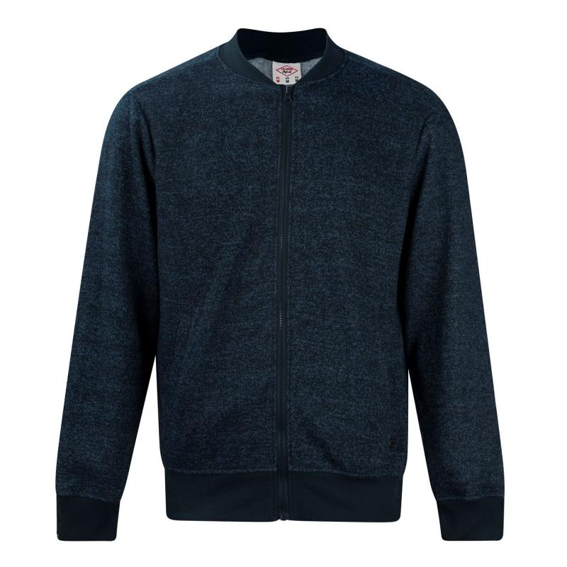 Lee Cooper Marl Bomber Mens Navy