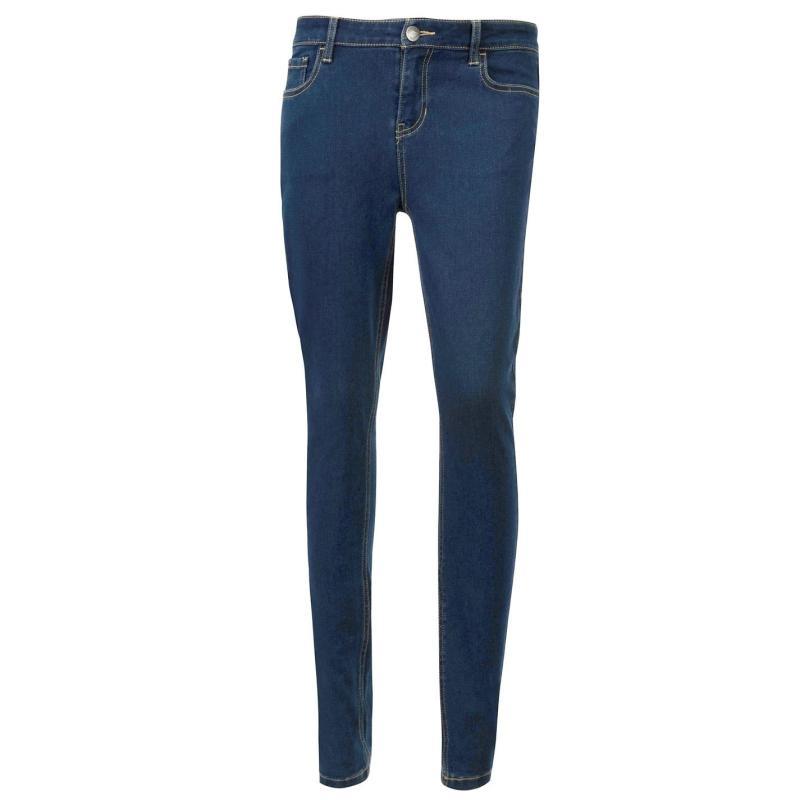 Lee Cooper Slim Fit Jeans Ladies Dark Wash