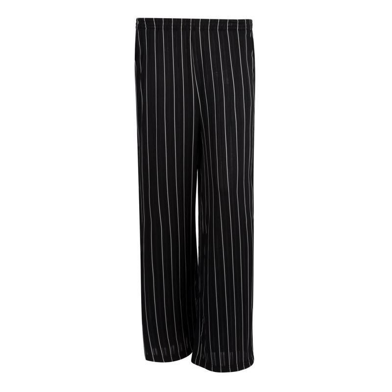 Kalhoty Lee Cooper Stripe Trousers Ladies Black