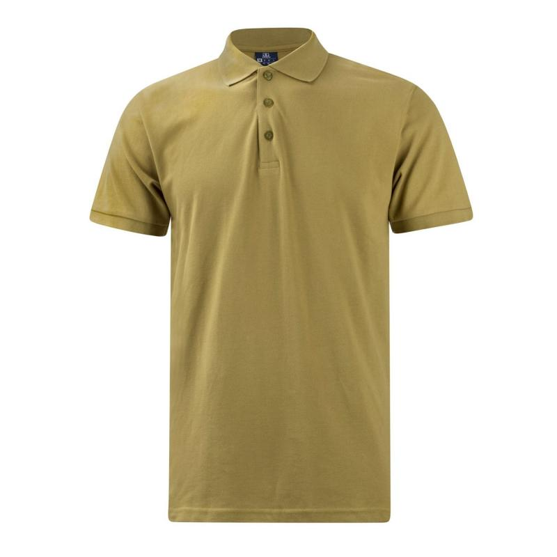 Giorgio Basic Polo Shirt Mens Army