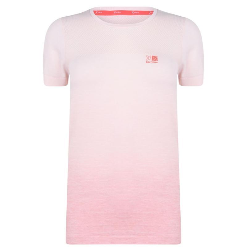 Tričko Karrimor X Rapid T Shirt Ladies Light Rose DD
