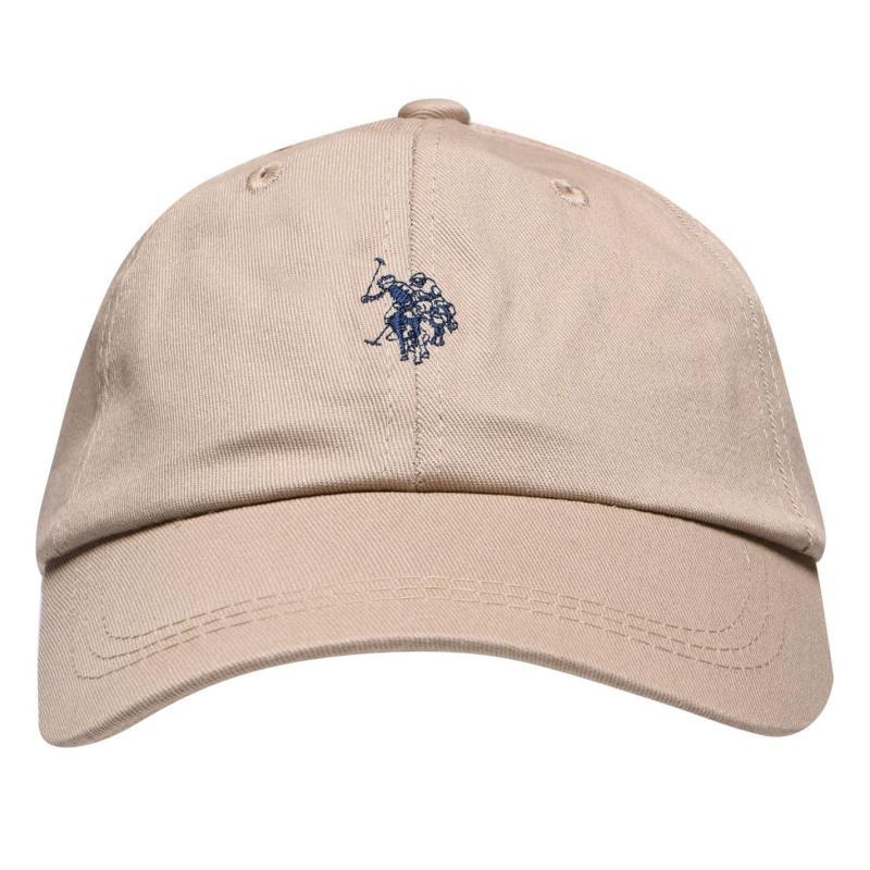 US Polo Assn Logo Baseball Cap Safari