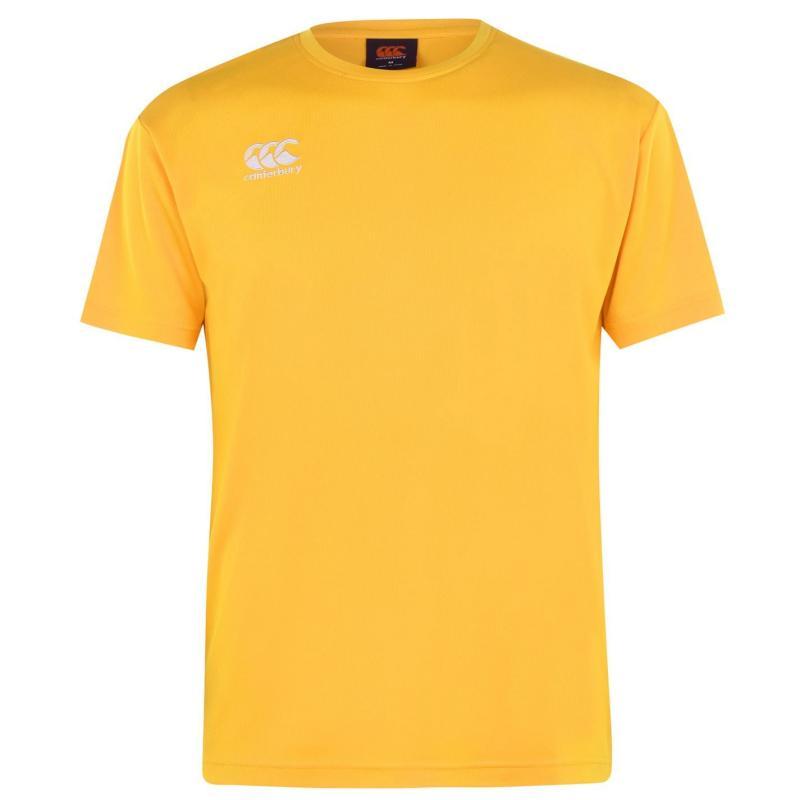 Canterbury Short Sleeve Training T Shirt Mens gold