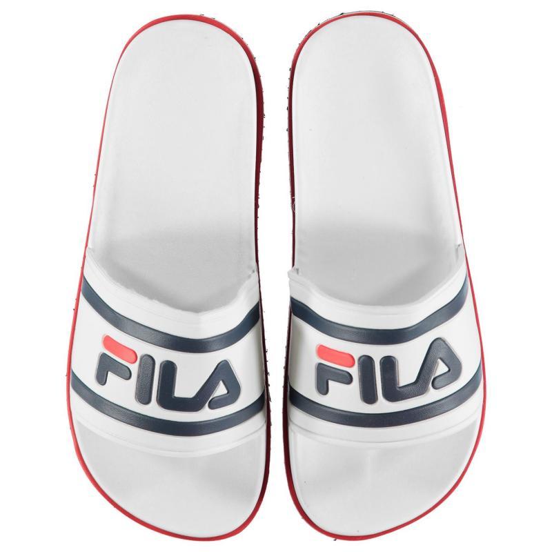Boty Fila Zepha Slides Ladies White/Navy/Red
