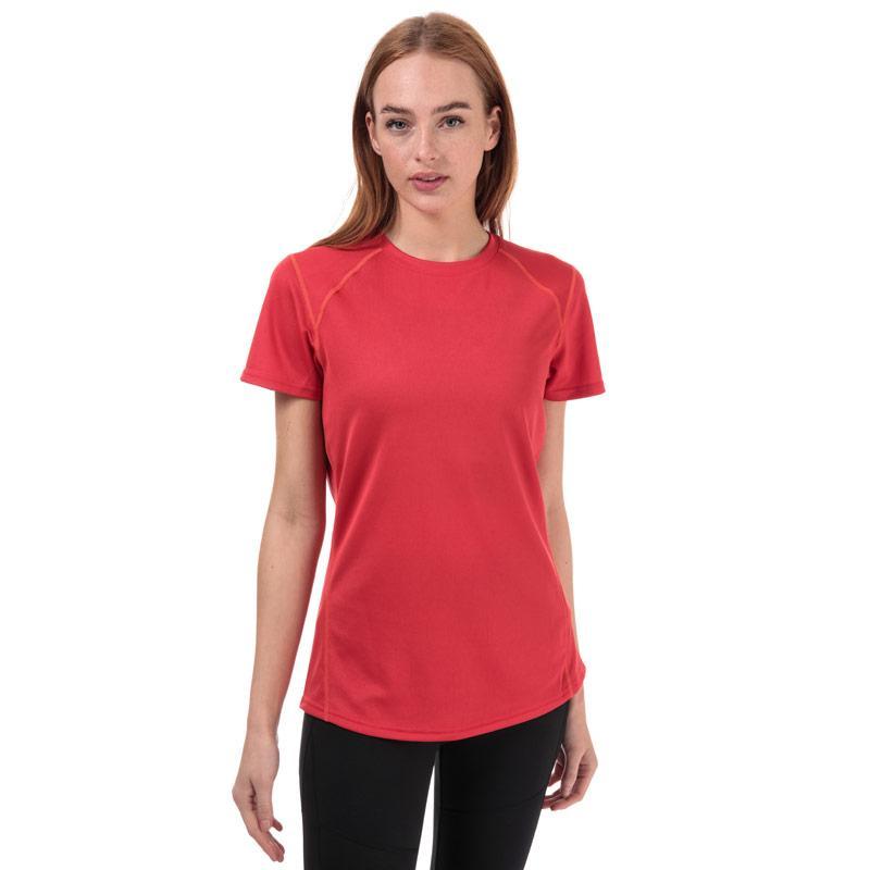 Berghaus Womens Crew Neck 2.0 Tech T-Shirt Pink