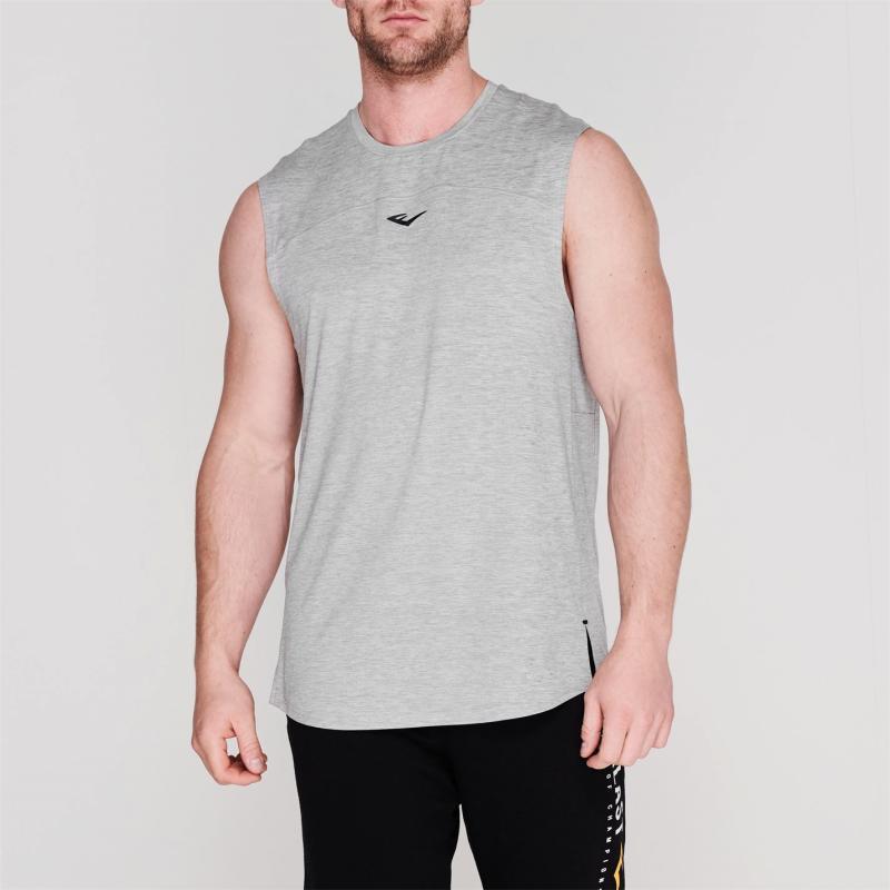 Everlast Training Vest Mens Grey Marl