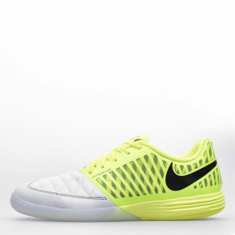 Nike Lunargato Indoor Football Trainers LEMON VENOM/BLACK-PHOTON DUST
