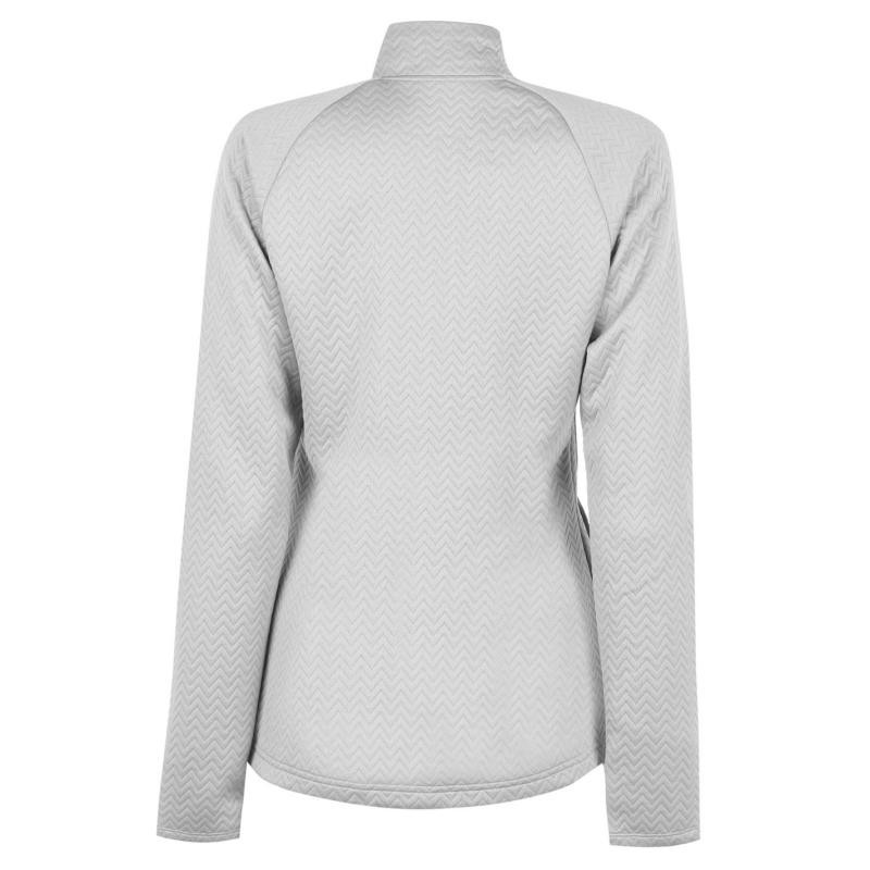 Svetr adidas Full Zip Layer Womens Grey