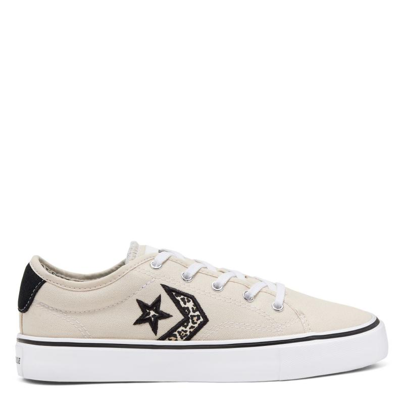 Converse Star Replay Trainers Ladies Natural Ivory