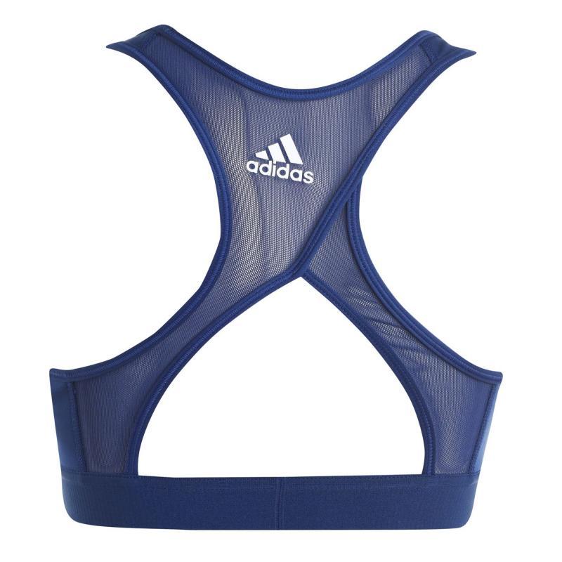 Adidas 3 Stripe Sports Bra Tech Indigo