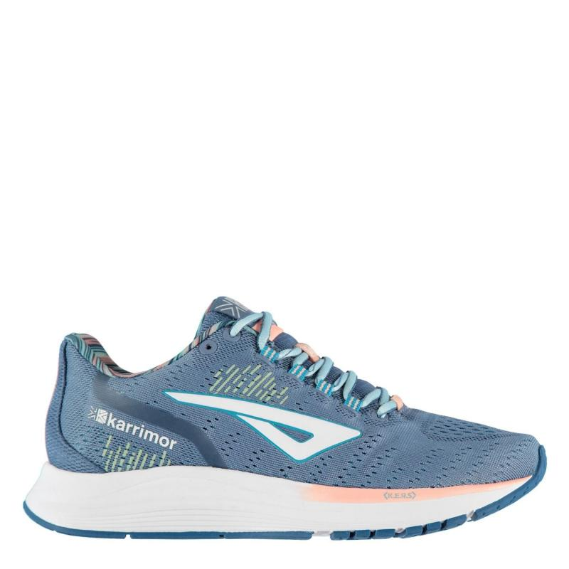 Karrimor Aura Trainers Ladies Steel/Peach