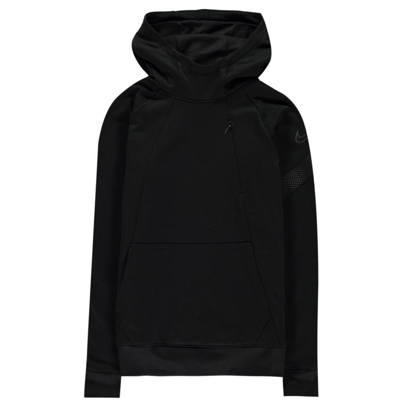 Tepláky Nike Academy Hoodie Junior Boys BLACK/ANTHRACITE/ANTHRACITE
