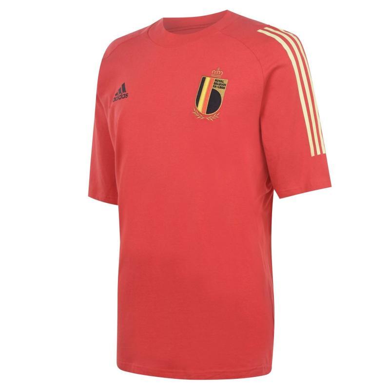 Tričko adidas Belgium T Shirt Mens Red