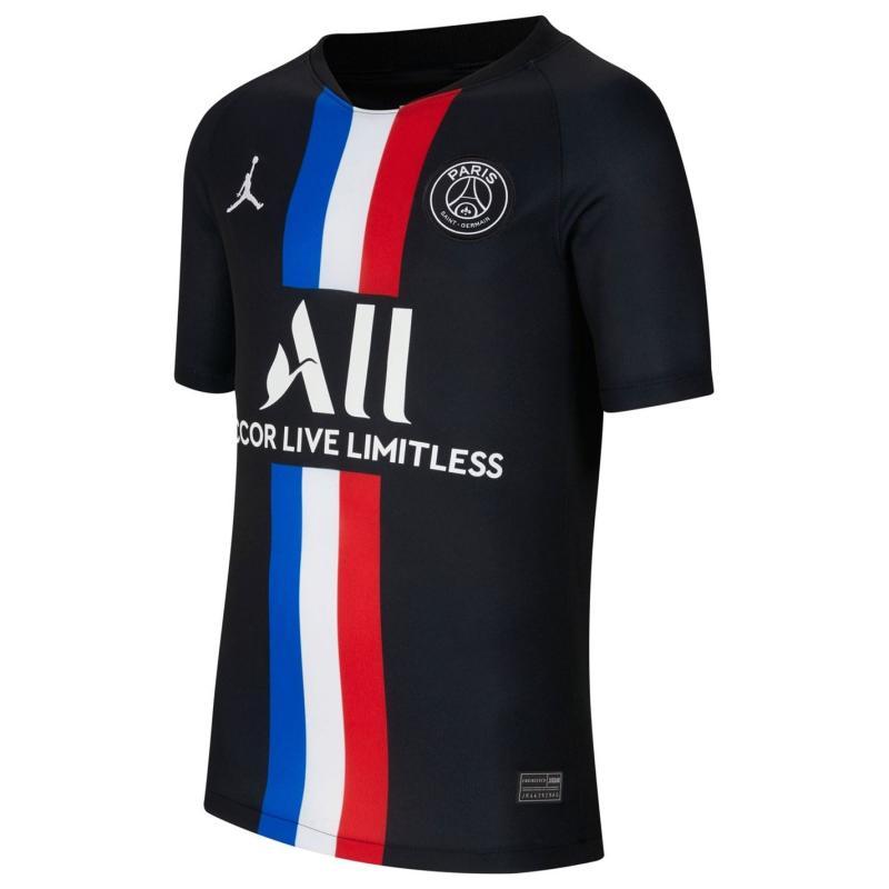 Nike Paris Saint Germain Fourth Shirt 2019 2020 Junior Black