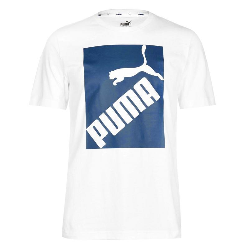 Tričko Puma Big Logo QT T Shirt Mens White